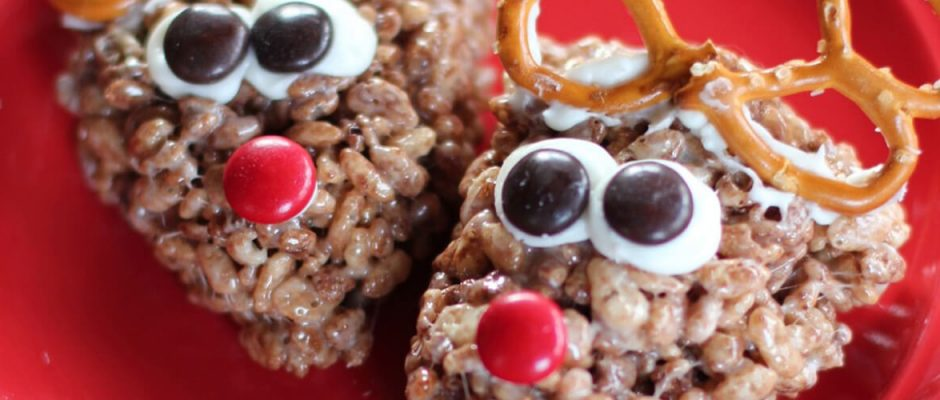 Christmas Rice Krispie Chocolate Reindeer RecipeFood Thoughts Cocoa & Cacao